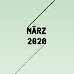 März 2020 | Kalender der Kulturen